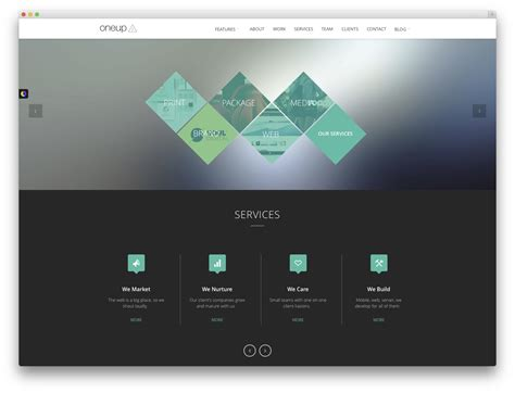 design themes for websites 23 creative wordpress themes for web design agencies