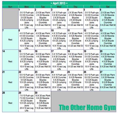 daily workouts the other home