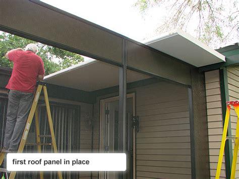 screen room roof panels article info home improvement kits
