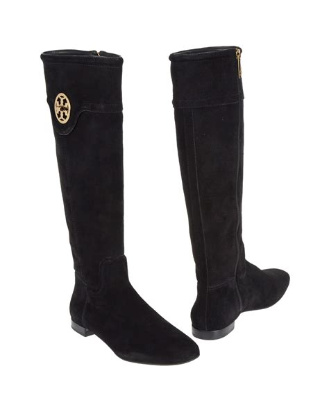 burch black boots burch boots in black lyst