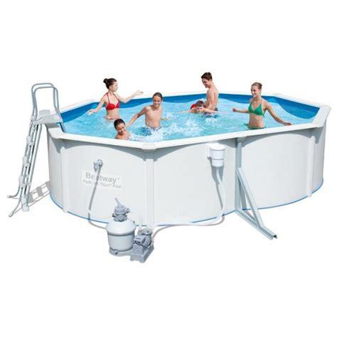 best way piscine piscine en acier bestway hydrium titan 4 88 x 3 66 x 1 22 m