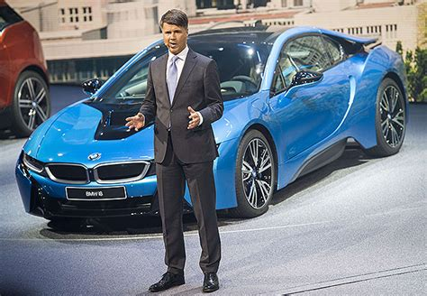 bmw ceo bmw ceo harald krueger collapses on stage shifting gears