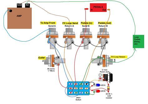 diy effects loop switcher wiring diagrams repair wiring