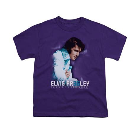 T Shirt Lasting 35 elvis shirt 35th anniversary purple t shirt