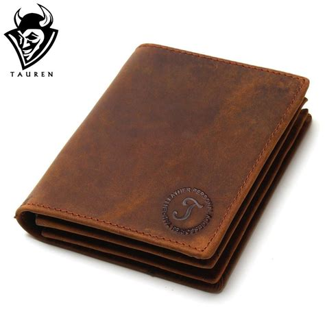 Handmade Leather Mens Wallets - 2018 vintage handmade leather wallets
