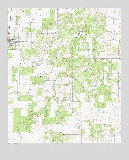 archer city texas map archer city east tx topographic map topoquest