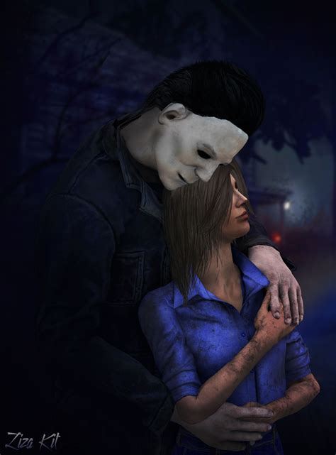 michael myers x laurie michaels myers laurie strode dead by daylight