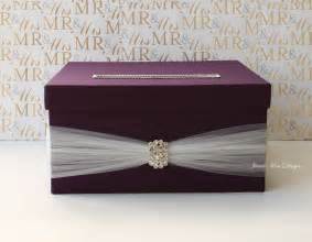 card boxes for weddings wedding card box wedding money box custom made by