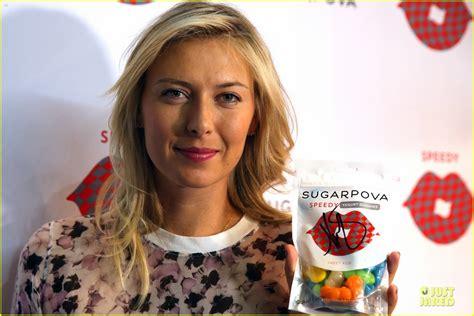Celebrates 27th Birthday by Sharapova Celebrates 27th Birthday At Tennis Grand