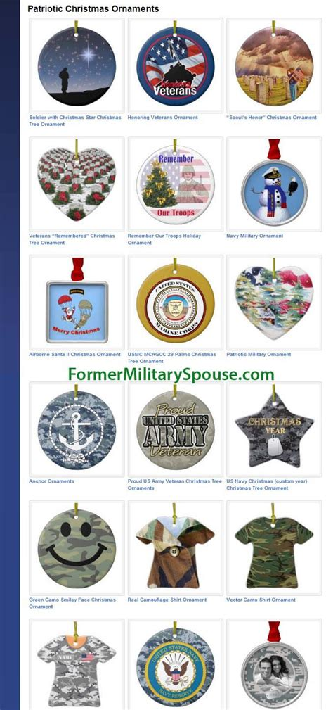 17 best images about military christmas ornaments on