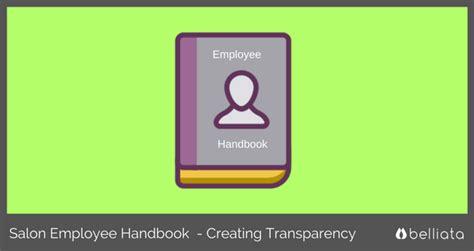 Salon Employee Handbook Free Salon Employee Handbook Template Free Salon Employee Handbook Template