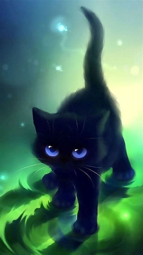 anime kitten hd wallpaper 18636 baltana iphone 5 wallpaper cats and kitty cats on pinterest