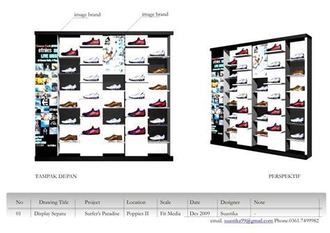Rak Display Sepatu rak sepatu