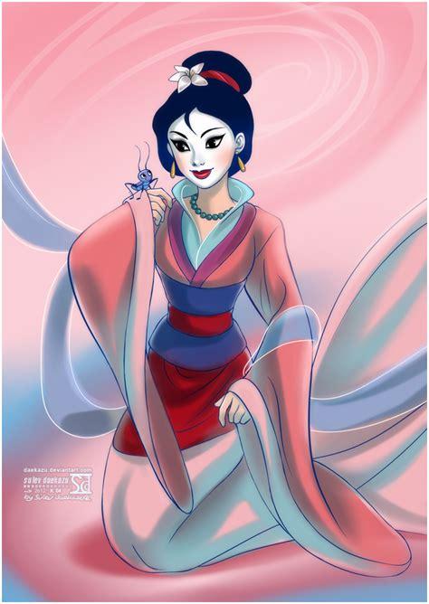 disney princess painting play mulan by daekazu on deviantart