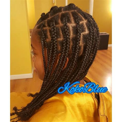 plaits nature hairstyles 25 best ideas about box plaits on pinterest natural