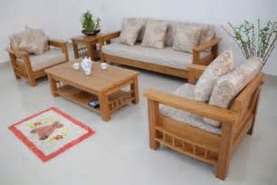 Simple Wooden Furniture Designs For Living Room Wood Living Room Sofa And Table In Small Modern Living