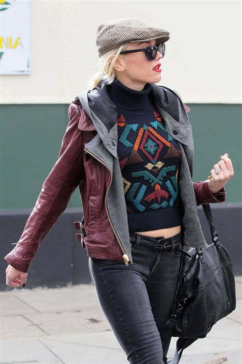 Gwen Stefani Parts Ways With Designer by Gwen Stefani Out And About In Zimbio