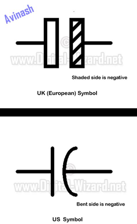 schematic symbol for electrolytic capacitors get free image about wiring diagram