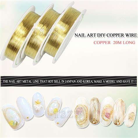 Wholesale Lot Soft Copper Wire Wire Line For Diy Jewelry 0 2 0 1roll lot newest fashion 20m gold silver nail diy copper wire in stickers decals