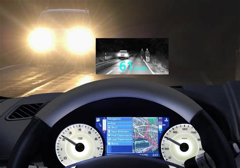 Head Up Display Auto by Siemens Vdo Nachtsichtsystem Ins Auto Head Up Display