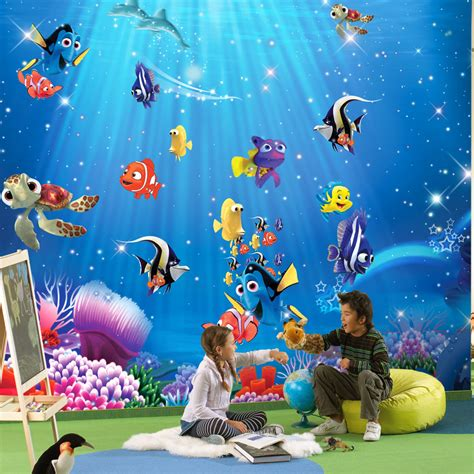 childrens wall mural find more wallpapers information about wholesale 3d wall murals wallpaper for baby room 3d
