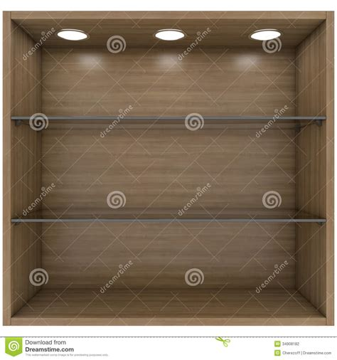 glass shelves with lights built in wooden and glass shelves with built in lights stock