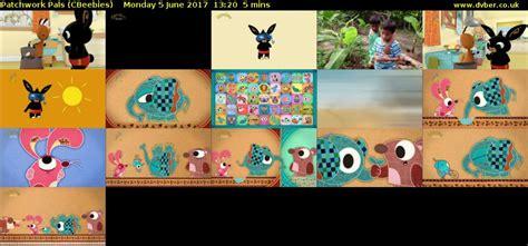 Patchwork Pals - patchwork pals cbeebies 2017 06 05 1320