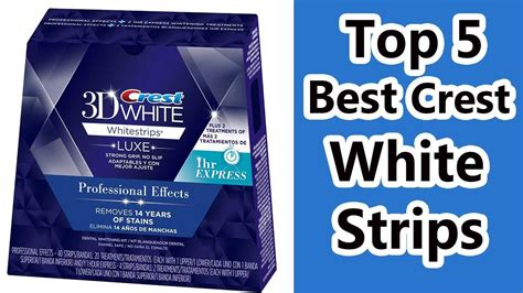 crest whitening strips with light top 5 crest white strips review 2017 whitening strips