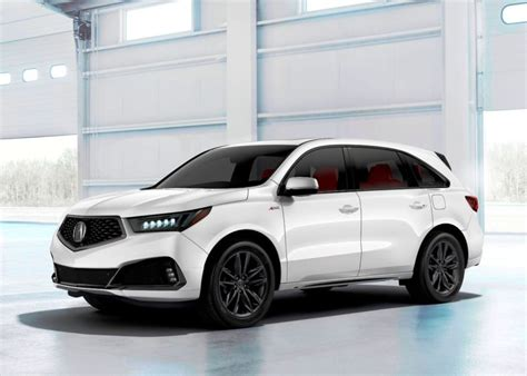 Acura New 2020 by 2020 Acura Mdx Redesign Overview Interior Vehicle New