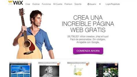 subir imagenes html gratis los 10 mejores sitios para crear una web gratis