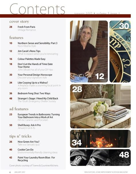 page design ideas 17 best ideas about content page on pinterest table of