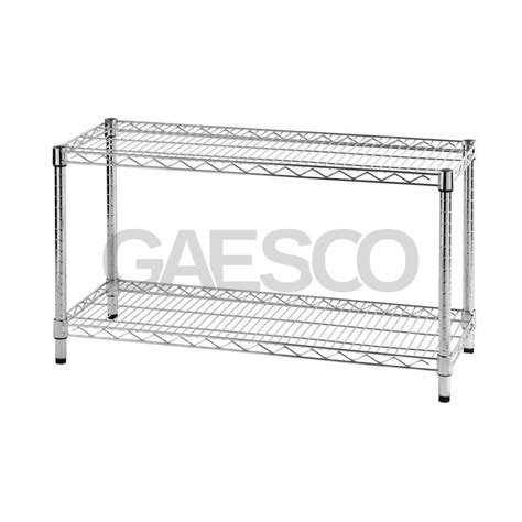 scaffali filo acciaio scaffali in filo acciaio a 2 ripiani portata 100 kg