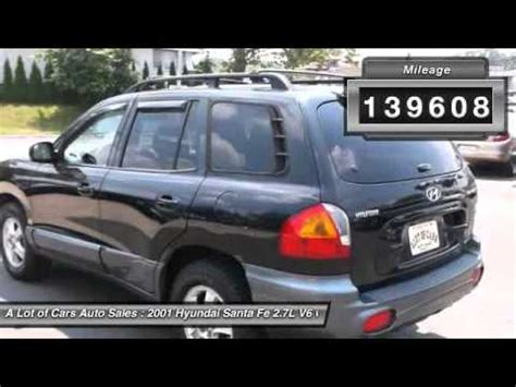 how to work on cars 2001 hyundai santa fe seat position control 2001 hyundai santa fe 2 7l v6 gls neptune city nj 07753 youtube