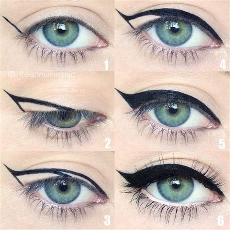 how to achieve the black eyeliner look indian