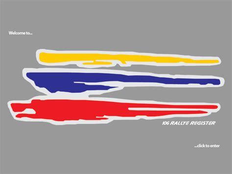 Sticker La Samba 106 stickers peugeot 106 rallye empat sticker