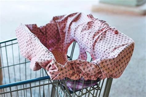 Handmade Shopping Cart Covers - quality sewing tutorials universal shopping cart seat
