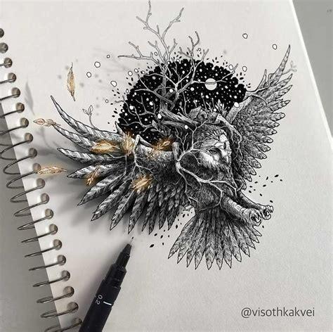 zeichnungen visoth kakvei