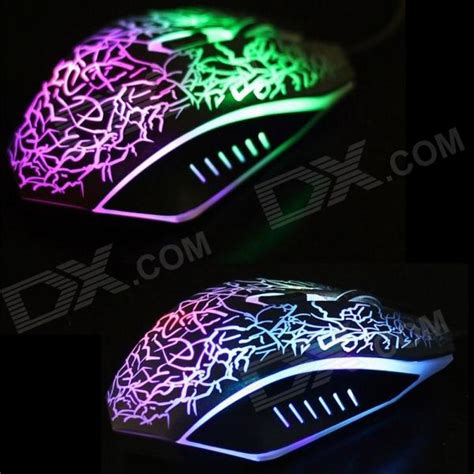 Mouse Gaming Rexus X2 6d 7 Led Black 2400dpi optical adjustable 6d wired gaming mouse for laptop pc black free shipping dealextreme