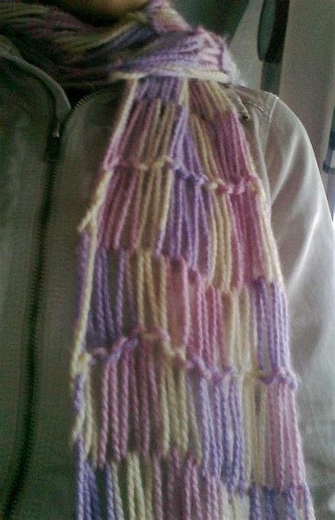 how to make a finger knit scarf wider different finger knitting 183 how to make a knit scarf