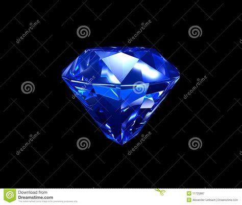 imagenes de negro zafiro diamante azul 3d del zafiro stock de ilustraci 243 n imagen