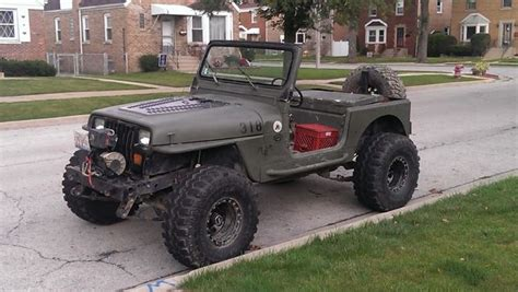 jeep wrangler military style stripped down bare bones military style jeep might want