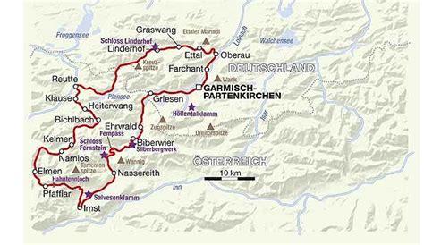 Motorradtouren Um Garmisch Partenkirchen by Deutschland Tourentipps Rund Um Garmisch Partenkirchen
