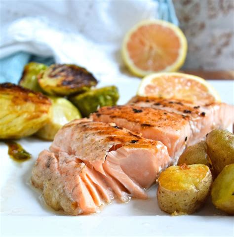 dinner salmon simple salmon dinner great food and lifestyle