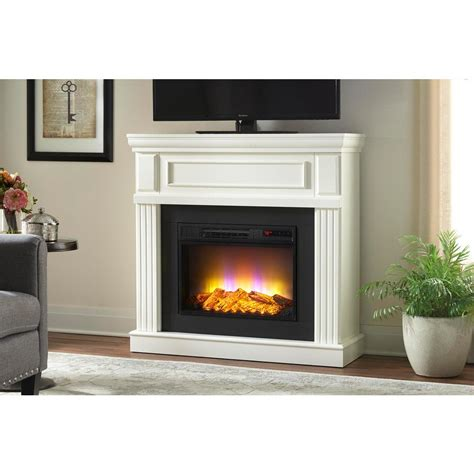electric fireplace freestanding relaxing indoor flame