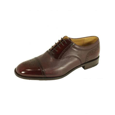 oxford shoe loake loake woodstock two tone oxford shoe loake from