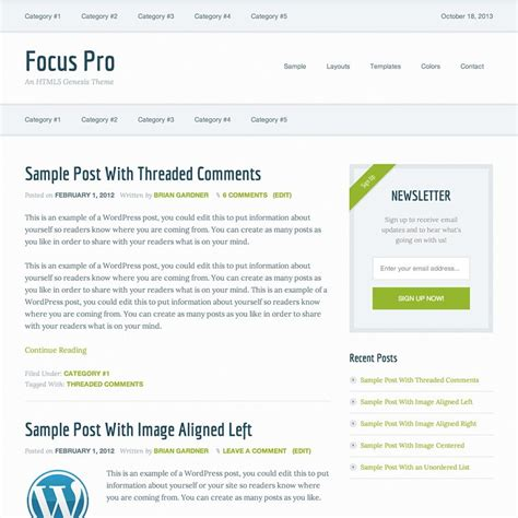genesis education pro theme by studiopress academic standard genesis focus pro theme by studiopress perfect blogger