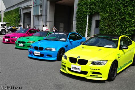 colorful cars tokyo special import car show 2009