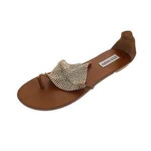 steve madden rhinestone sandals steve madden shineyy brown leather rhinestone flats