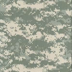 Ultrasuede Upholstery Fabric United States Army 50 Cotton 50 Nylon Digital Camouflage