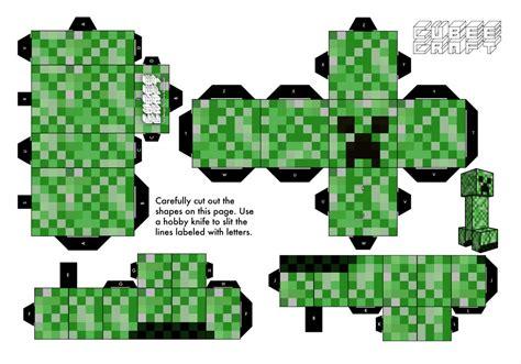 Papercraft Creeper - papercraft minecraft creeper images